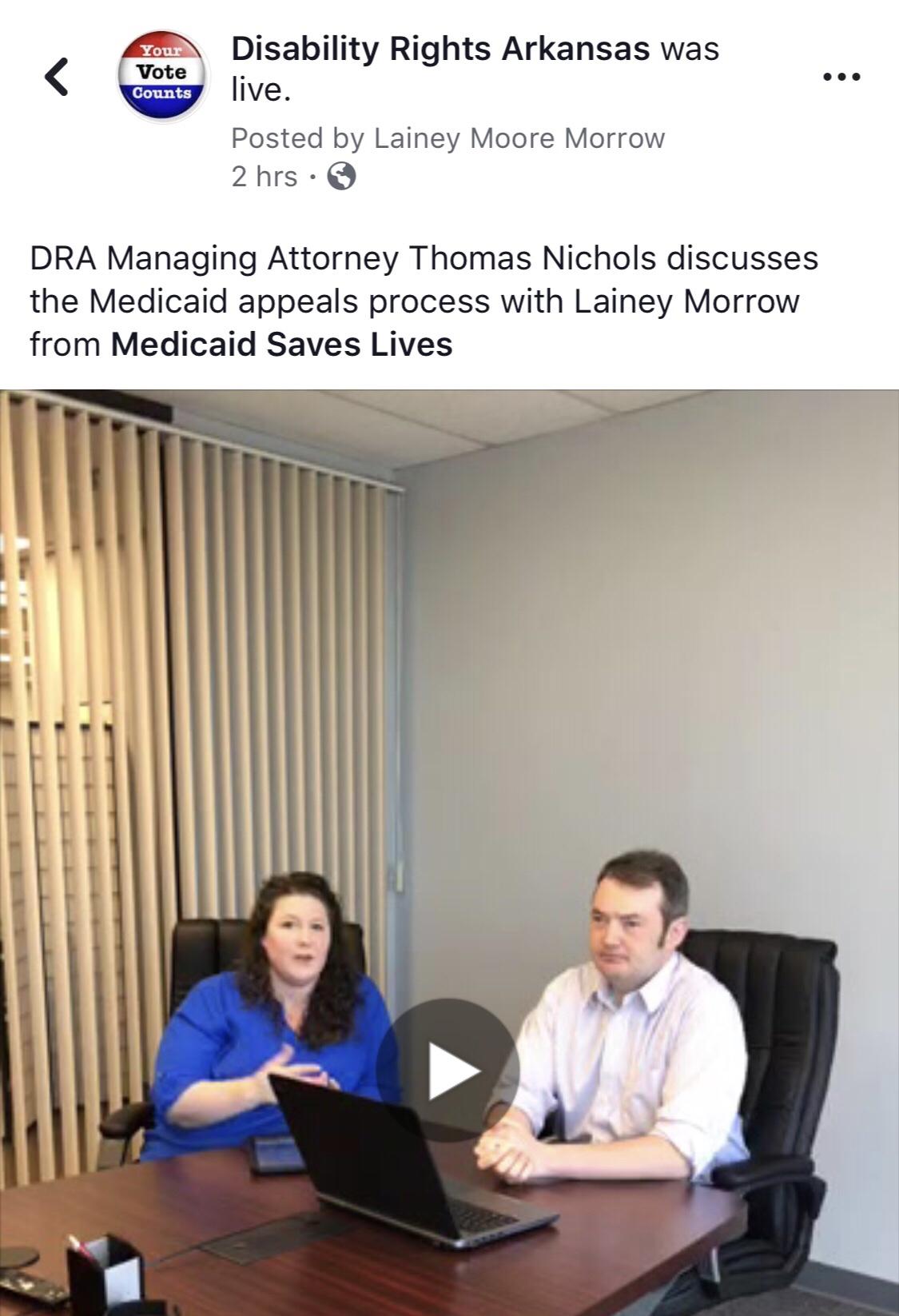 independent assessment – Medicaid Saves Lives